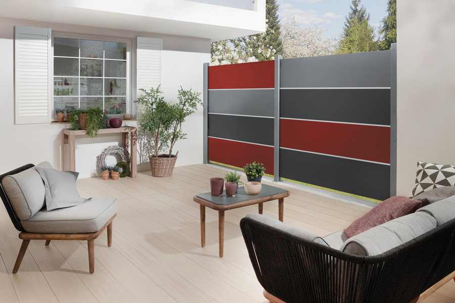 SYSTEM BOARD XL Zaunfelder in individueller Farbauswahl