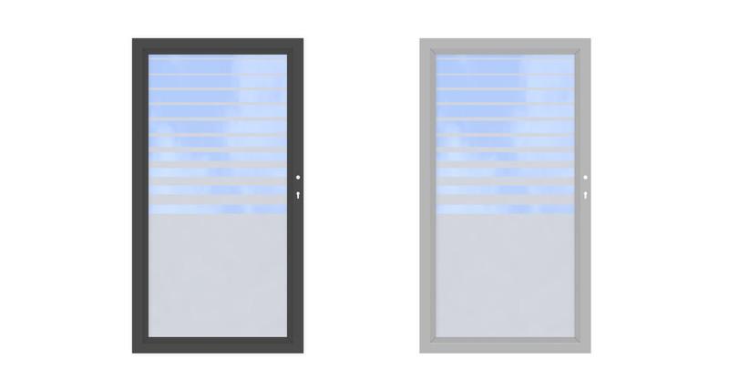 SYSTEM GLAS Beta Einzeltor