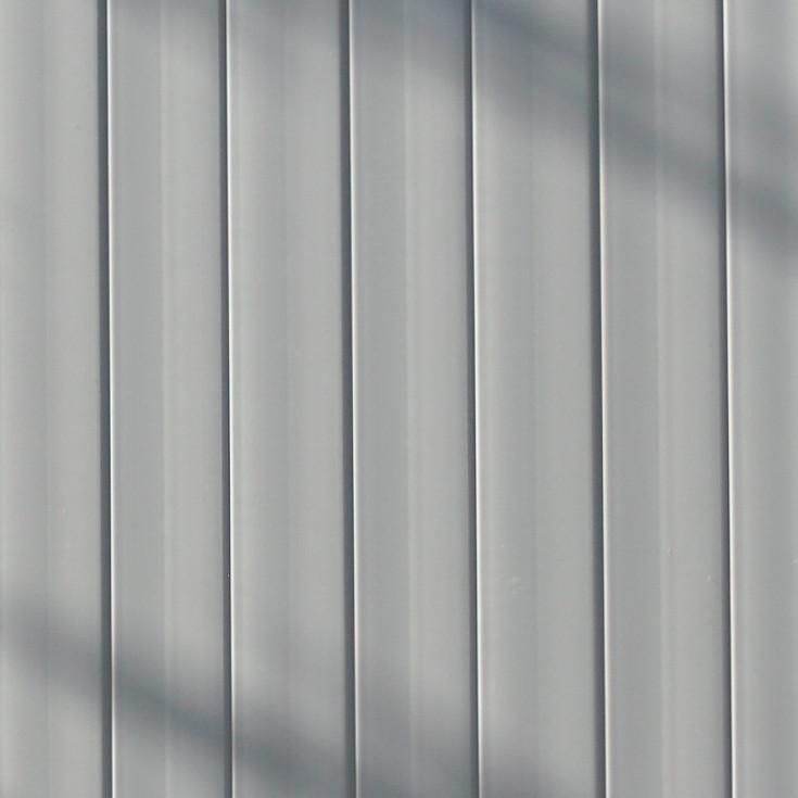 Fensterkunststoff Detail Grau