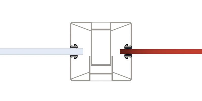 SYSTEM Kombination GLAS und BOARD