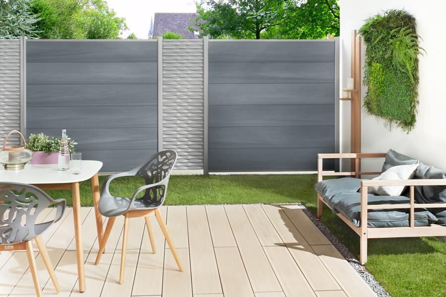 System Wpc Platinum System Zaune Sichtschutz Zaune Kategorie