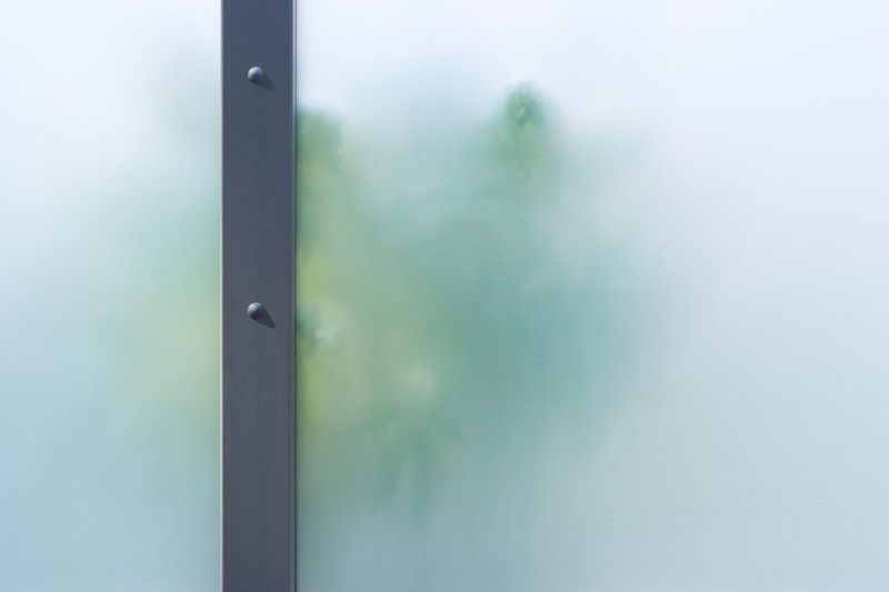 Opakes SYSTEM Glas Zaunfeld