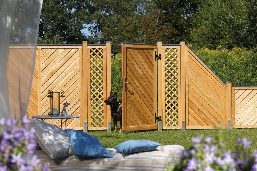 ALTAI MARO - natürlicher Sichtschutz aus unbehandeltem Holz