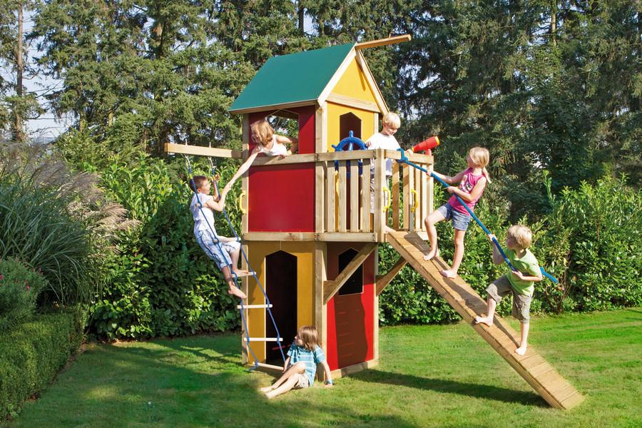 Klettergerüst Winnetoo : Winnetoo spieltürme und schaukeln kinderspielplatz kategorie