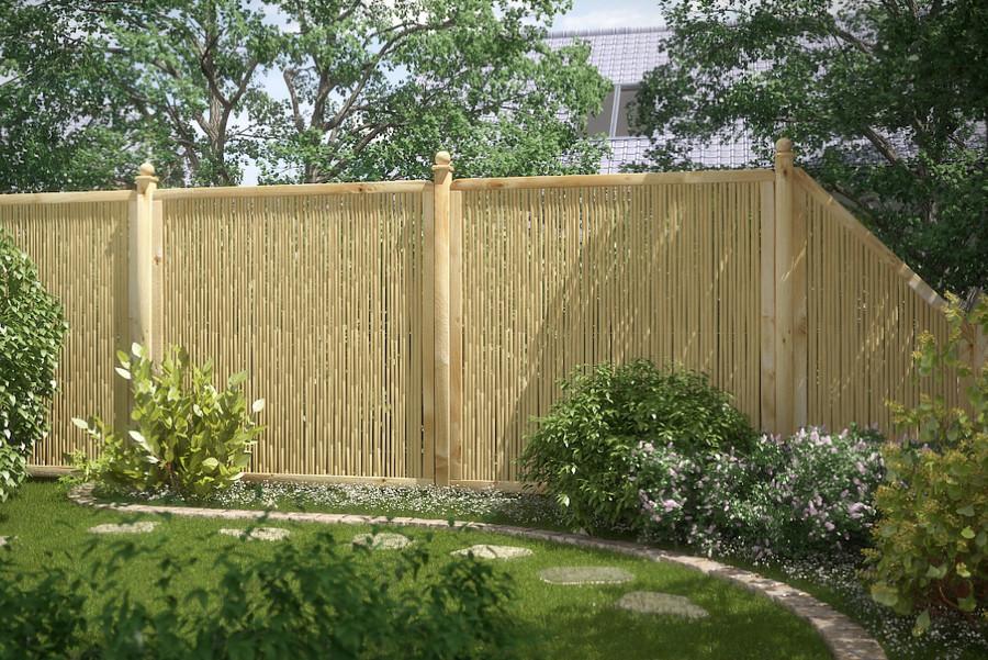 BAMBU - Sichtschutz für Terrasse und Garten