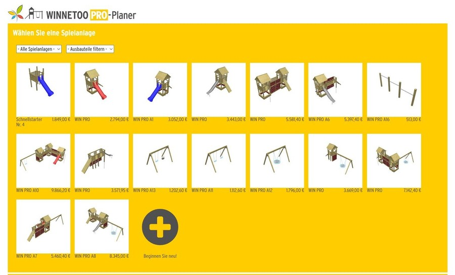 WINNETOO PRO Online-Planer