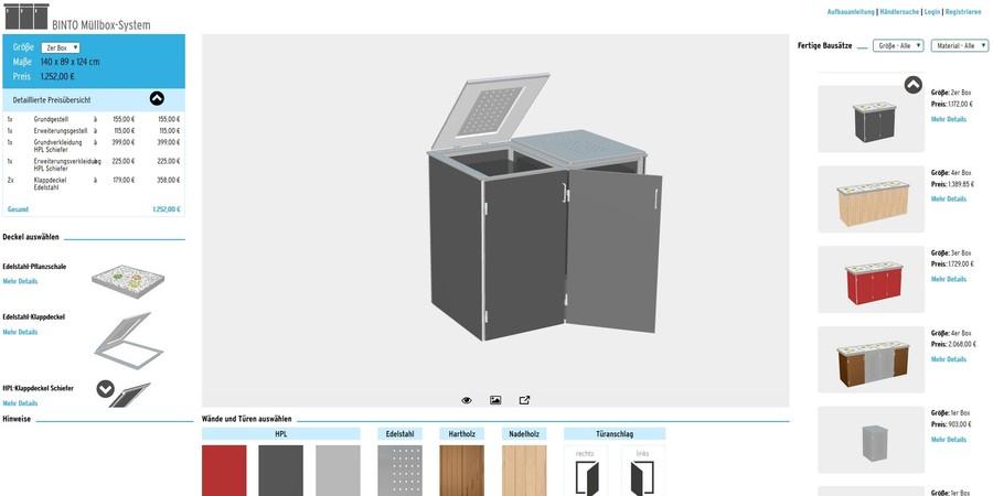 BINTO Müllbox-OnlinePlaner