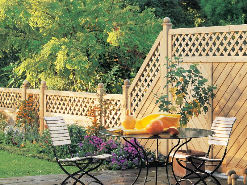 Sichtschutz und Gartenabtrennung mit GADA