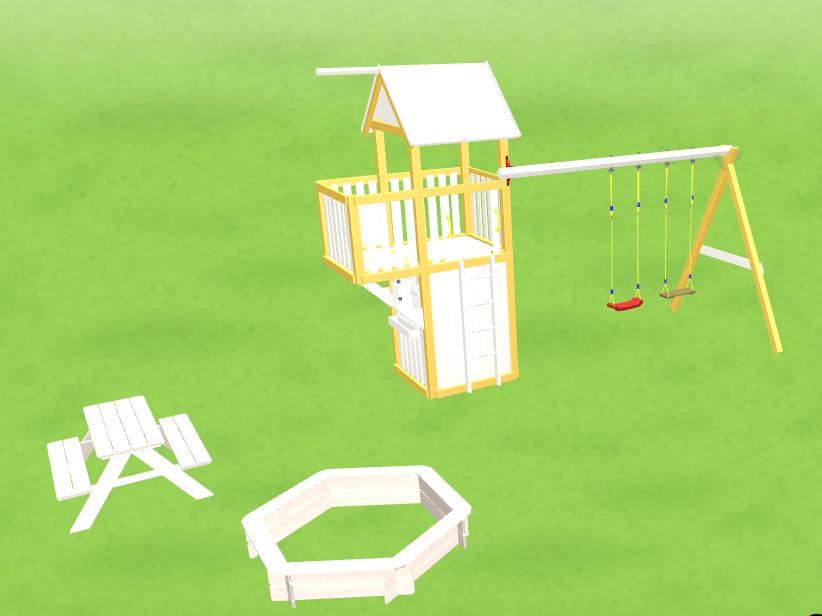 WINNETOO Spielplatz in 3D entwerfen