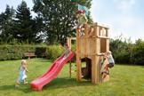 FIPS Spielturm Ritterburg mit Rutsche