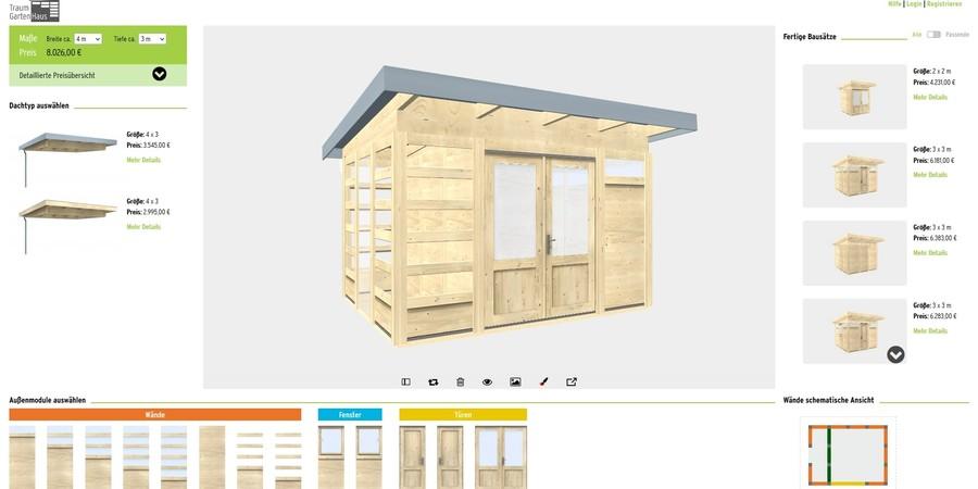 Gartenhaus OnlinePlaner