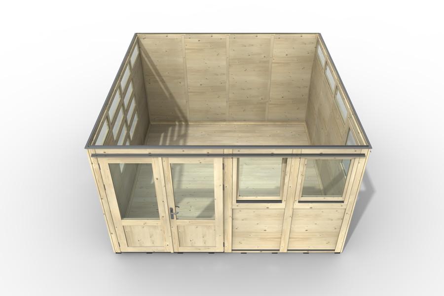 Haus 4x4 Art. 3606 Ansicht von oben