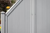 LONGLIFE RIVA Grau - senkrechter Profilverlauf in umlaufendem Rahmen