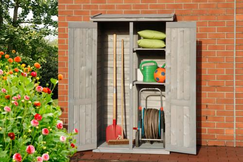 ...  und der passendende NEO Gartenschrank