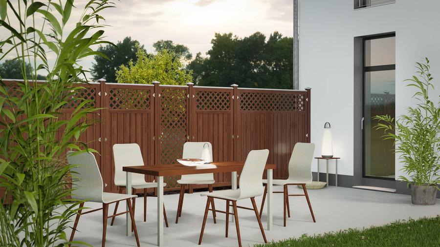LONGLIFE RIVA in 4 Farbtönen verfügbar: Weiß, Grau, Polareiche und Nussbaum