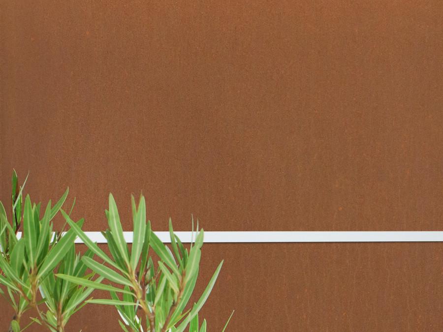 Corten-Stahl mit Edelrost Patina