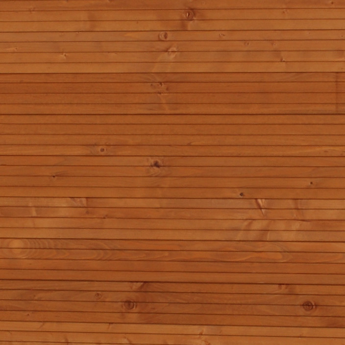 Nadelholz, farbig lasiert Detail