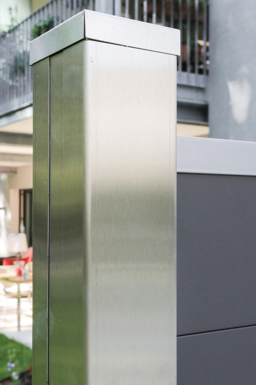 Hervorragend Material Edelstahl - hochwertiges Zaunzubehör | TraumGarten TL25